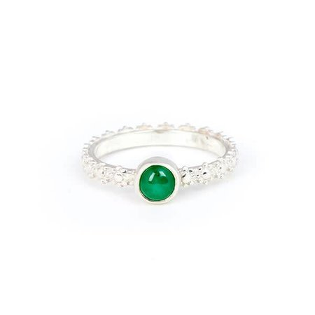 A Little Lem A Little Lem Fiona The Firecracker Emerald Ring