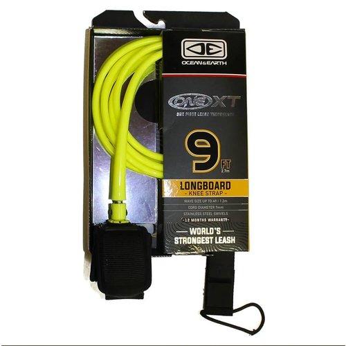 Ocean & Earth O&E 9ft Premium XT Yellow Ankle Leash