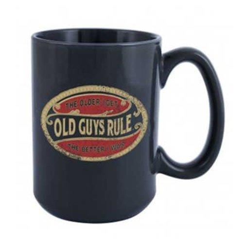Old Guys Rule Old Guys Rule Oval Beker