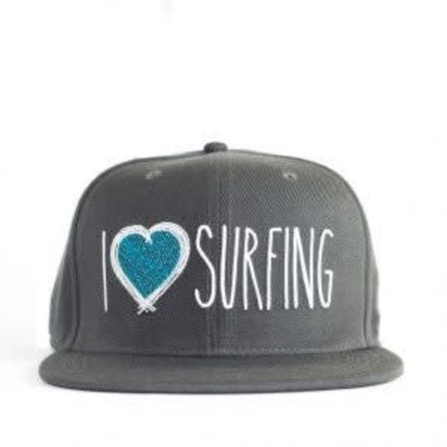 Aloha Surf Huismerk I Love Surfing Cap
