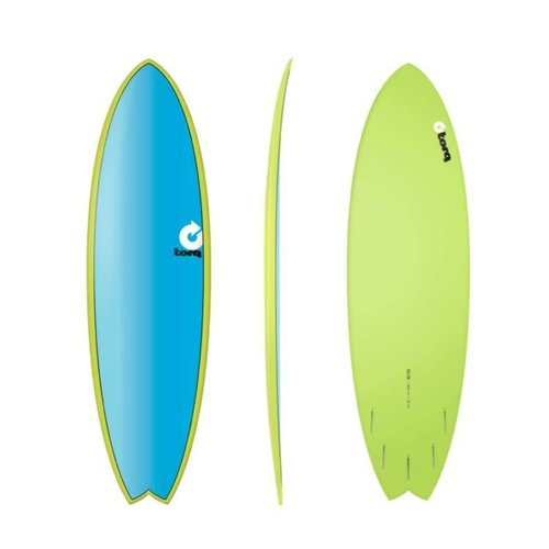 Torq Torq Fish Full Fade Green Blue Blue 6'3""