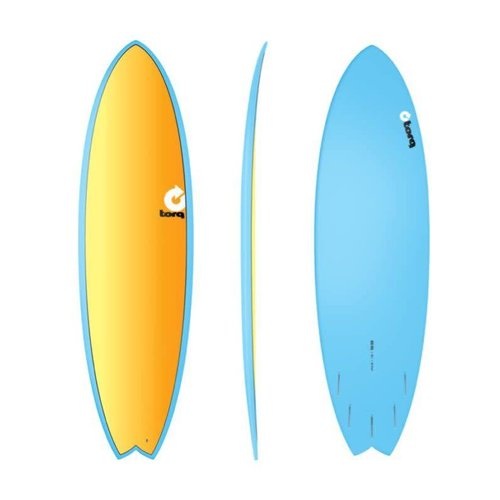 Torq Torq Fish Full Fade Blue Yellow Orange 6'6""