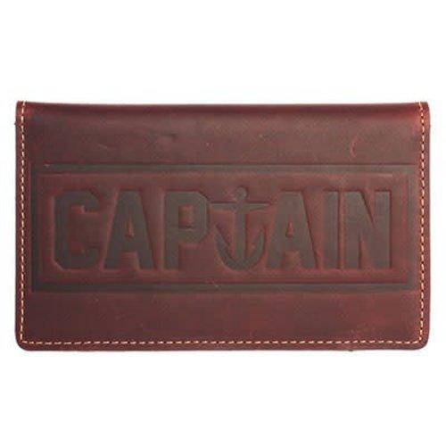Captain Fin Captain Fin Tranny Leather Wallet Portemonnee