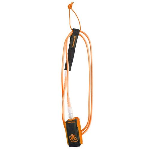 Creatures of Leisure Creatures 6ft Comp Leash Orange