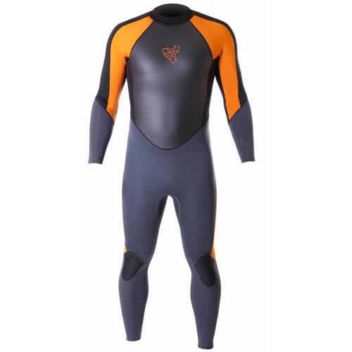 Xcel Xcel GCS 3/2 Kids Zomer Zwart/Oranje Wetsuit