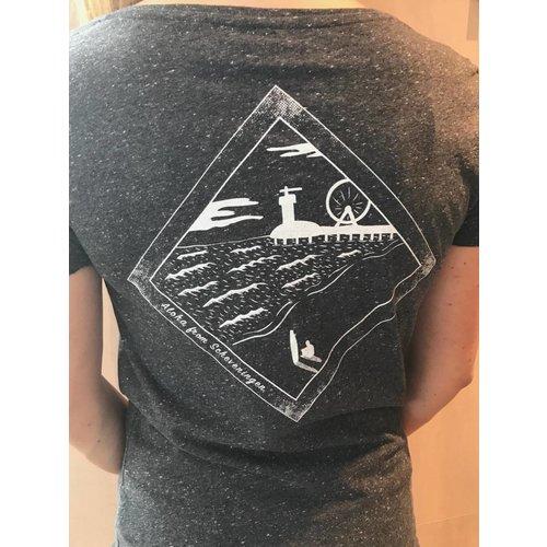 Aloha Surf Huismerk Aloha's Scheveningen de Pier T-shirt Dames