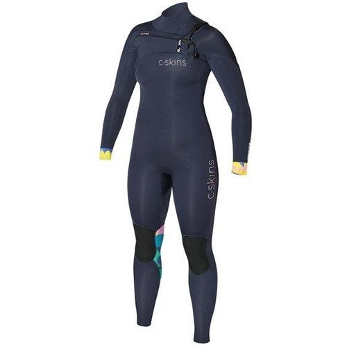 C-Skins C-Skins ReWired 3/2 Dames Zomer Bl/Blue/Tropic Wetsuit