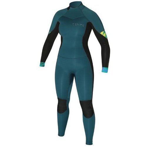C-Skins C-Skins Solace 4/3 Dames Zomer Wetsuit Ocean/Black