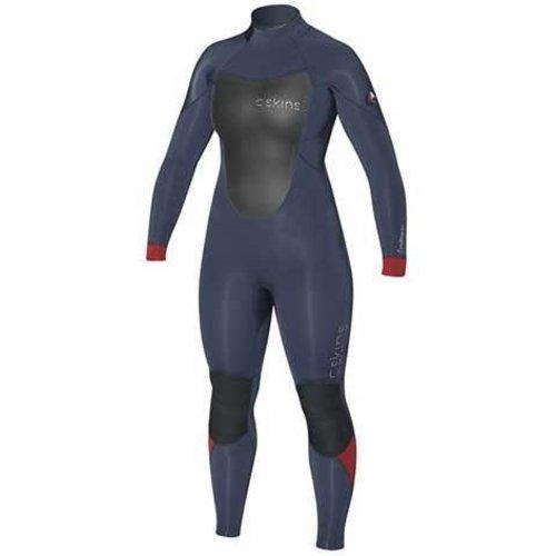 C-Skins C-Skins Wired 5/4 Dames Blauw Winter Wetsuit