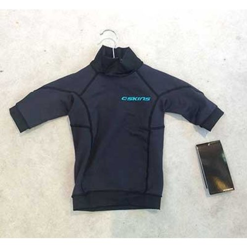 C-Skins C-Skins HDi SS Kids Zwart Thermal Layer
