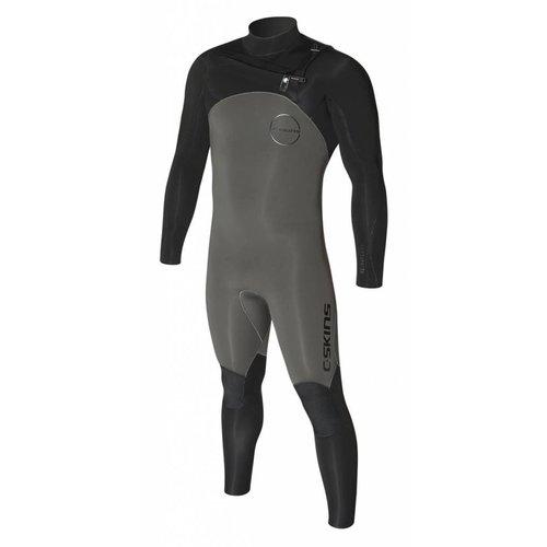 C-Skins C-Skins ReWired 5/4 Heren Gunmetal/Black Winter Wetsuit