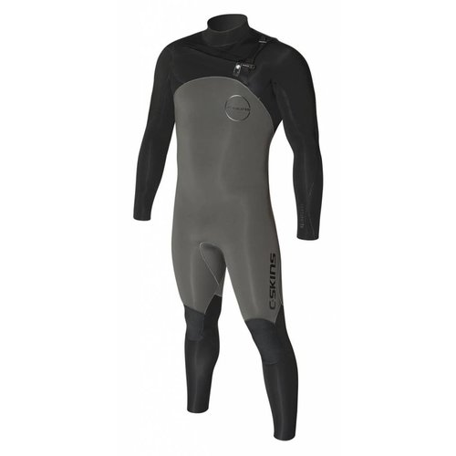 C-Skins C-Skins ReWired 5/4 Heren Winter Wetsuit Gunmetal/Black