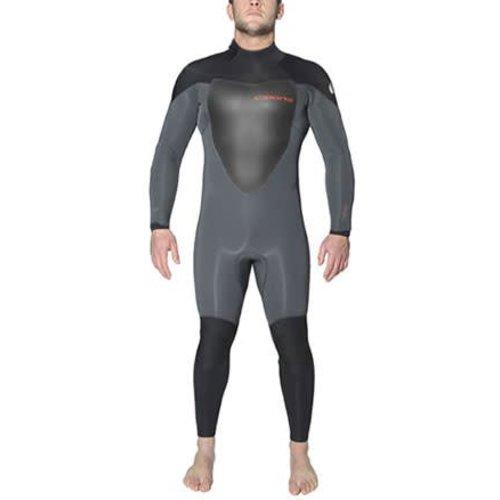 C-Skins C-Skins Wired 5/4 Heren Grijs/Zwart Winter Wetsuit