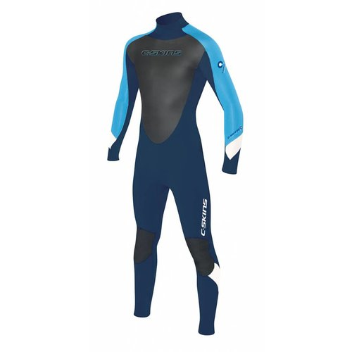C-Skins C-Skins Surflite 5/4 Kids Winter Blauw/Wit Wetsuit