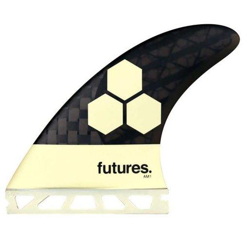 Futures Fins Futures Blackstix AM1 Cream Thruster Fins