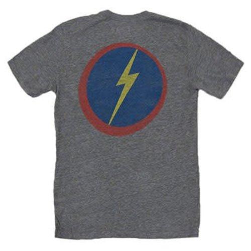 Lightning Bolt Lightning Bolt Team Bolt Grey Tee