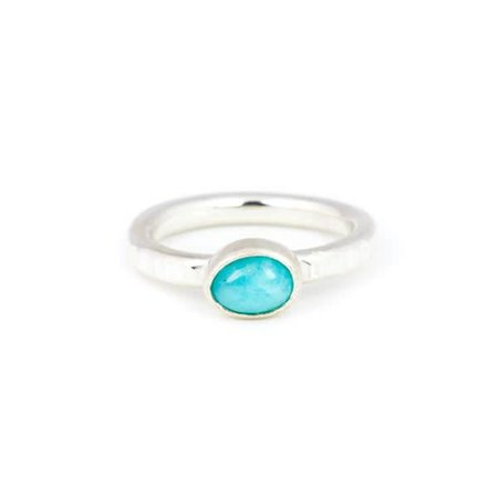 A Little Lem A Little Lem Claire The Criminal Peruvian Amazonite Ring