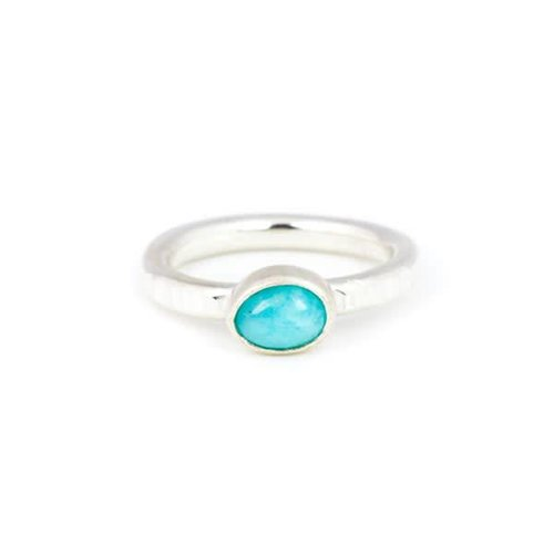 A Little Lem Little Lem Claire The Criminal Peruvian Amazonite Ring