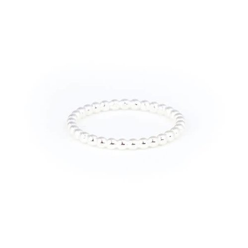 A Little Lem Little Lem Sara The Sidekick Pearl Silver Ring