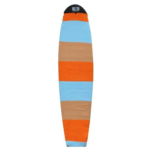 Ocean & Earth O&E Orange/Blue Longboard Boardsock