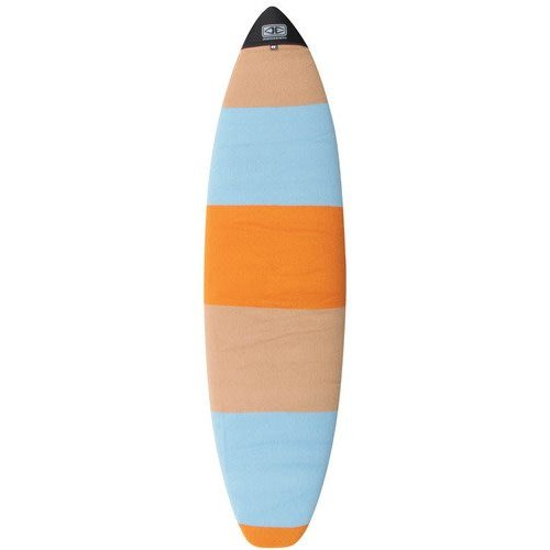 Ocean & Earth O&E Orange/Blue Fish Boardsock