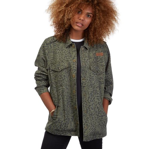 Volcom Volcom Dames Pretty Wild Army Green Jacket