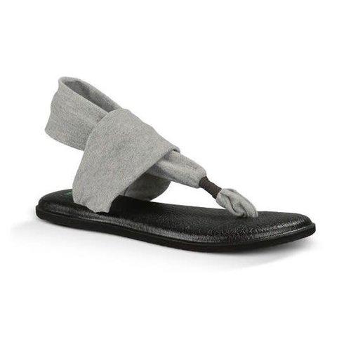 Sanuk Sanuk Dames Yoga Sling 2 Grey Slippers