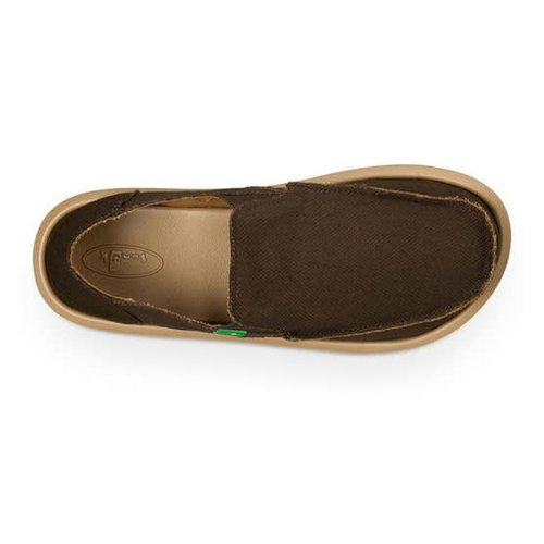 Sanuk Sanuk Heren Hemp Brown Schoenen