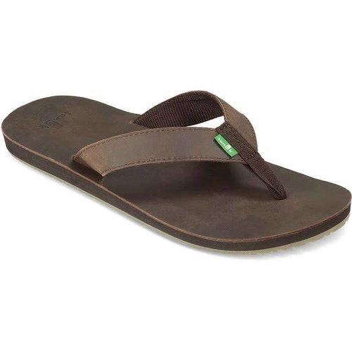 Sanuk Sanuk Heren John Doe Brown Slippers