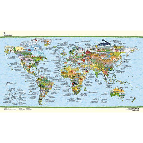 Wereldkaart surftrip map re writable kopen verkrijgbaar bij alohas wereldkaart surftrip map re writable thecheapjerseys Images