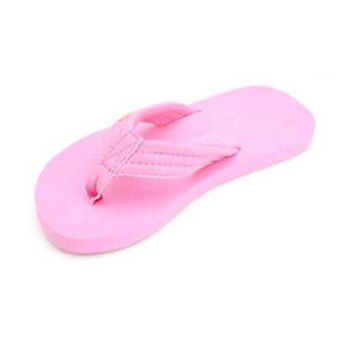 Rainbow Sandals Rainbow Kids Grombows Soft Rubber Pink Sandals
