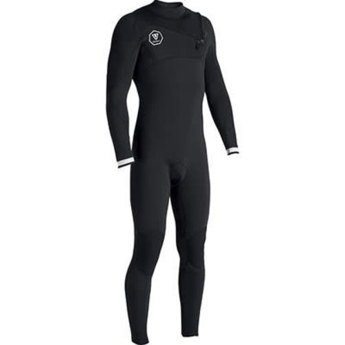 Vissla Vissla 7 Seas 3/2 Heren Black/White Zomer Wetsuit
