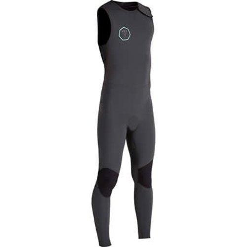 Vissla Vissla 7 Seas 2/2 Long John Zomer Wetsuit Dark Grey