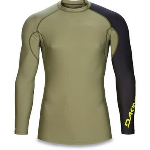 Dakine Dakine Heren Twilight Snug Fit Olivine LS Lycra
