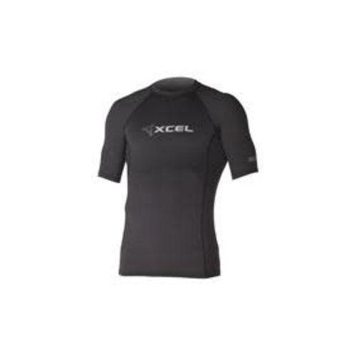 Xcel Xcel Black SS Heren Lycra