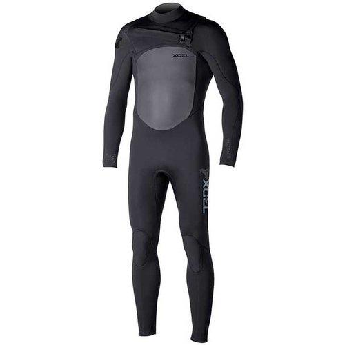 Xcel Xcel Infiniti X2 5/4 Heren Winter Zwart Wetsuit