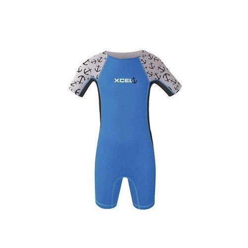 Xcel Xcel Toddlers 1mm Blue Kids Spring Wetsuit