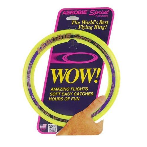 Aerobie Aerobie Sprint Ring Frisbee Geel