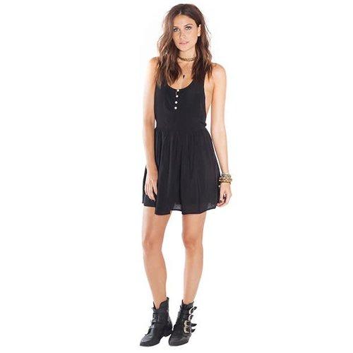 Amuse Amuse Blair Black Dress