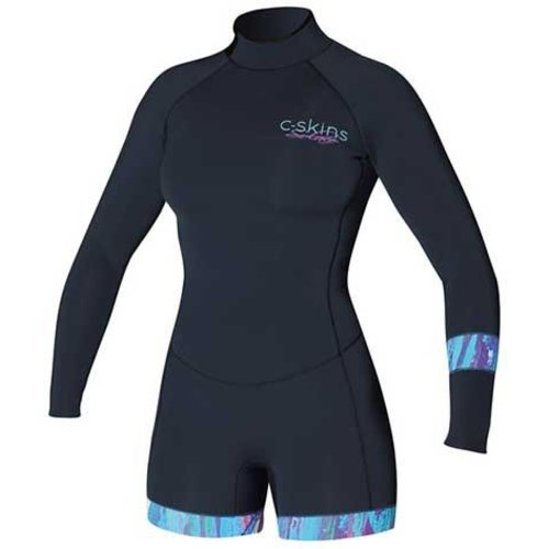 C-Skins C-Skins Boyleg Solace 2mm Dames Shorty Wetsuit