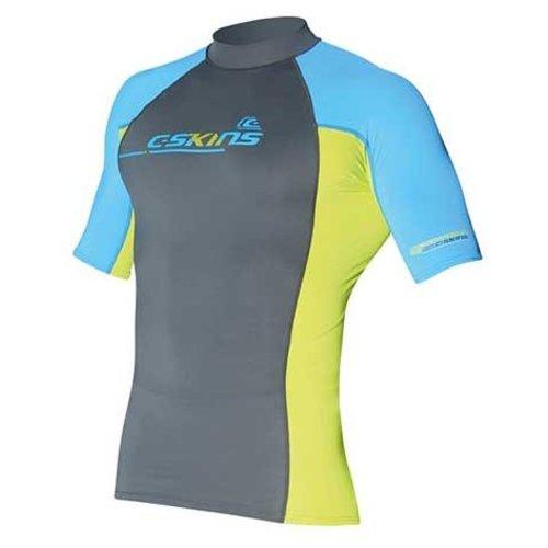C-Skins C-Skins Heren Lycra Short Sleeve Blauw/Grijs