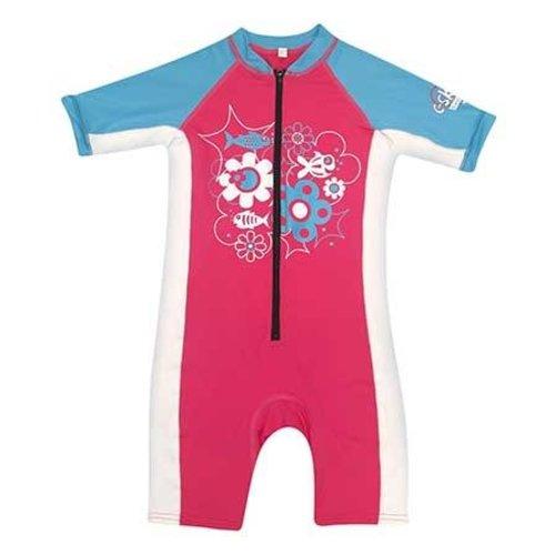 C-Skins C-Skins Pink/White/Blue Baby Lycra Shorty