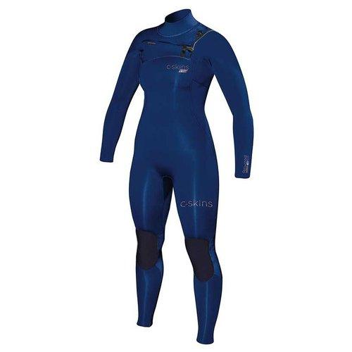 C-Skins C-Skins ReWired 4/3 Blauw Dames Zomer Wetsuit