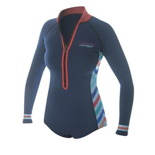 C-Skins C-Skins Solace 2mm High Cut Dames Shorty Wetsuit
