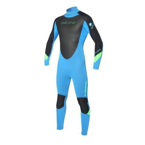C-Skins C-Skins Surflite 5/4/3 Kids Winter Zwart/Blauw Wetsuit