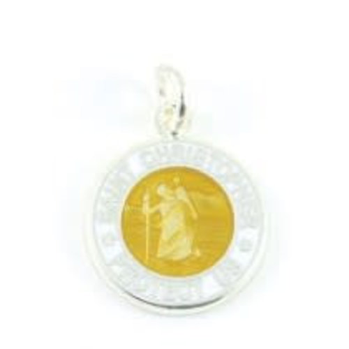 Saint Christopher Saint Christopher Wit/Brons Ketting