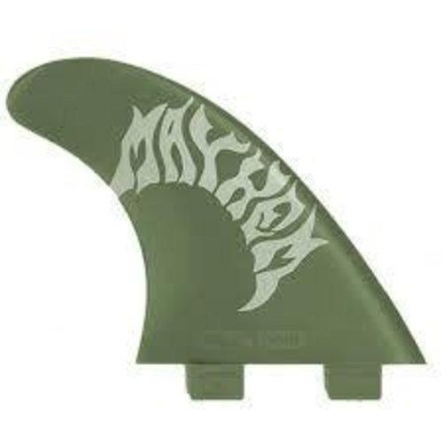 FCS FCS GMB Green Flex Thruster Fins