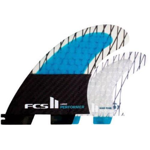 FCS FCS II Performer PC Carbon Quad Fins