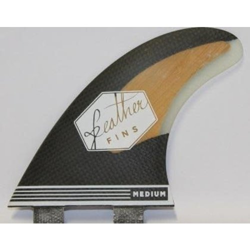 Feather Fins Feather Fins FCS Bamboo & Carbon Thruster Fins