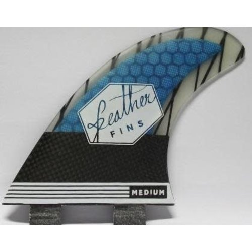 Feather Fins Feather Fins FCS Superlight Carbon Blauw Thruster Fins